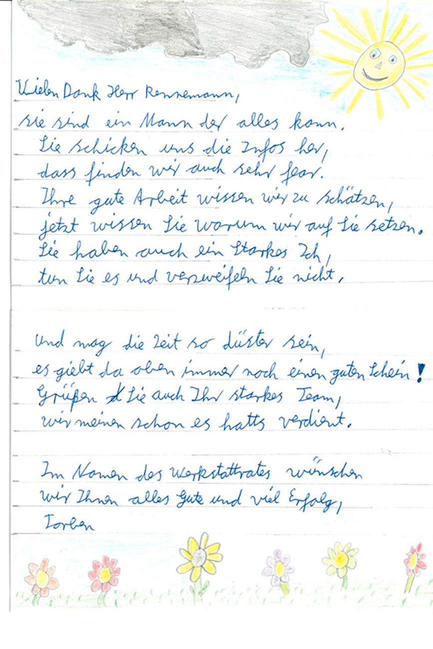 Ein Brief an Herrn Rennemann