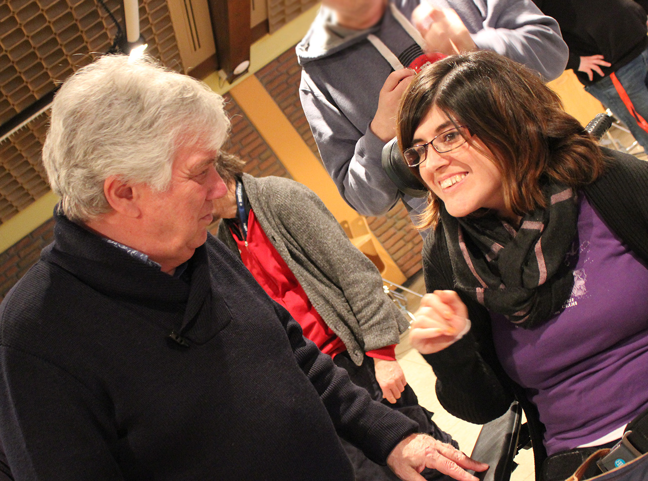 Rolf Zuckowski im Lebenshilfewerk Pinneberg