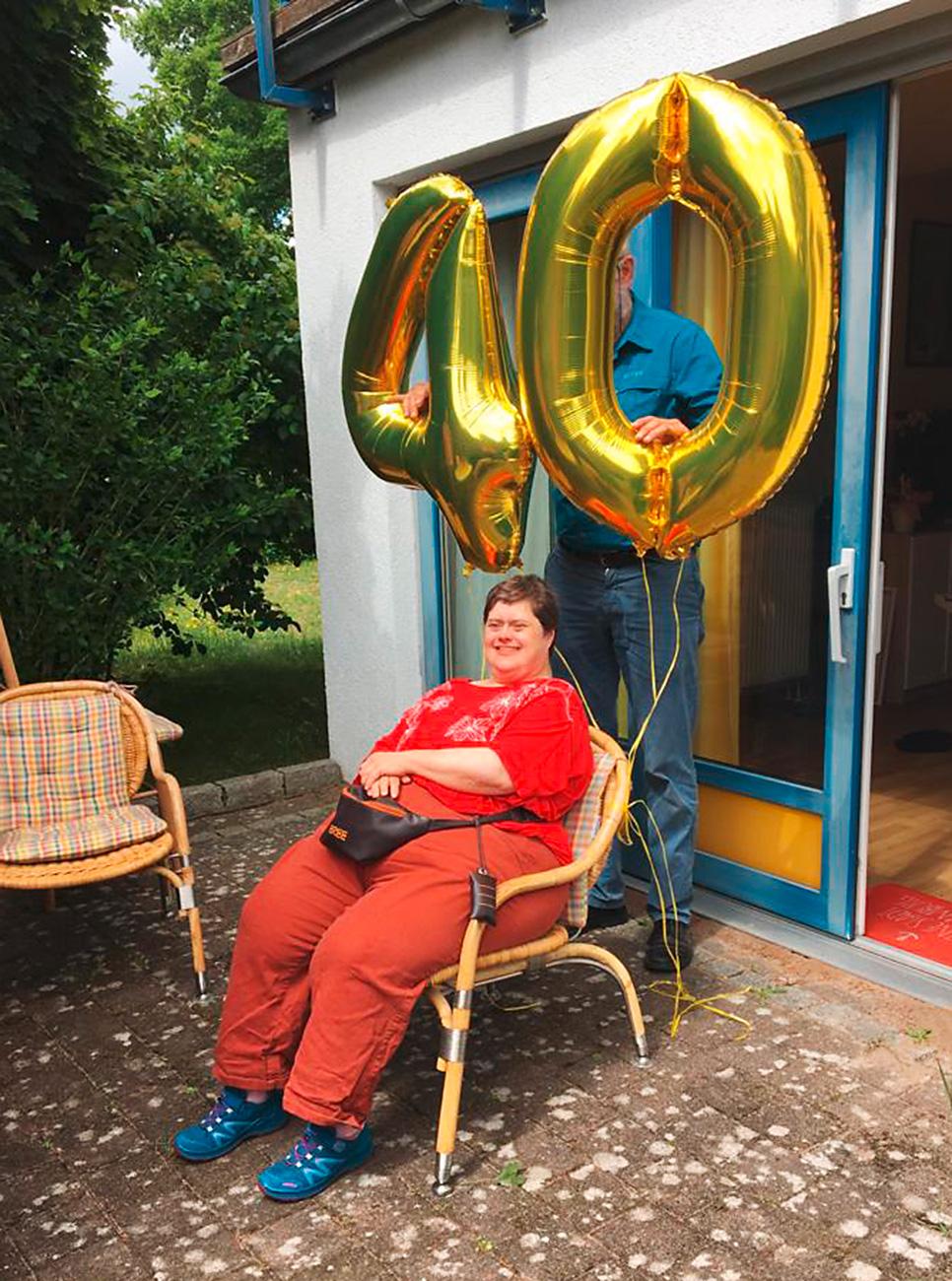 Das 40-jährige Jubiläum